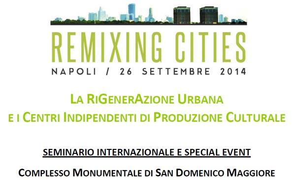 Remixing Cities