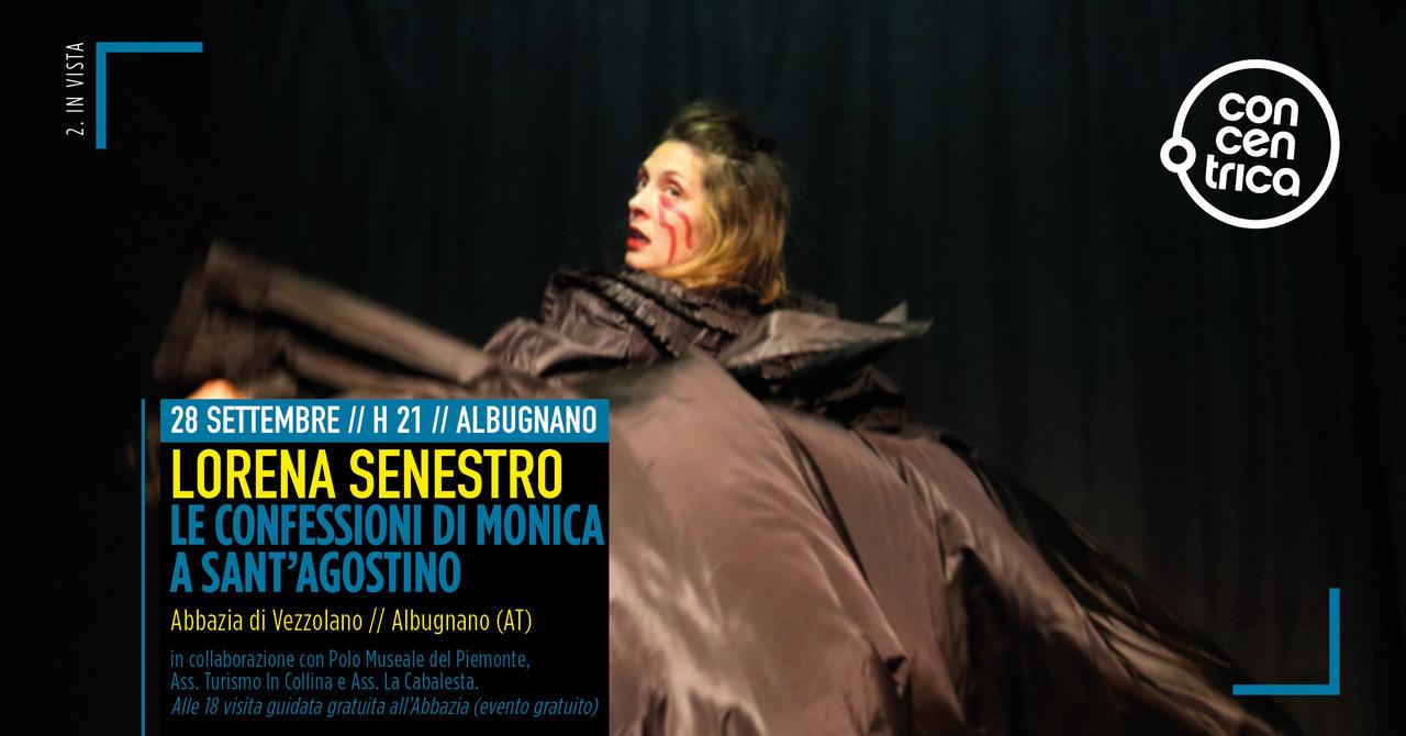 28 settembre, Abbazia di Vezzolano:: Le Confessioni di Monica a Sant'Agostino